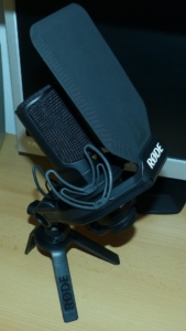 Rode NT USB mit Rode SMR Spinne