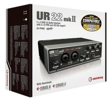 Steinberg UR22 MKII USB Audio Interface OVP