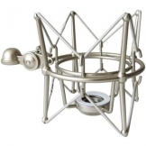KEEPDRUM MS088 Silver Mikrofon-Spinne